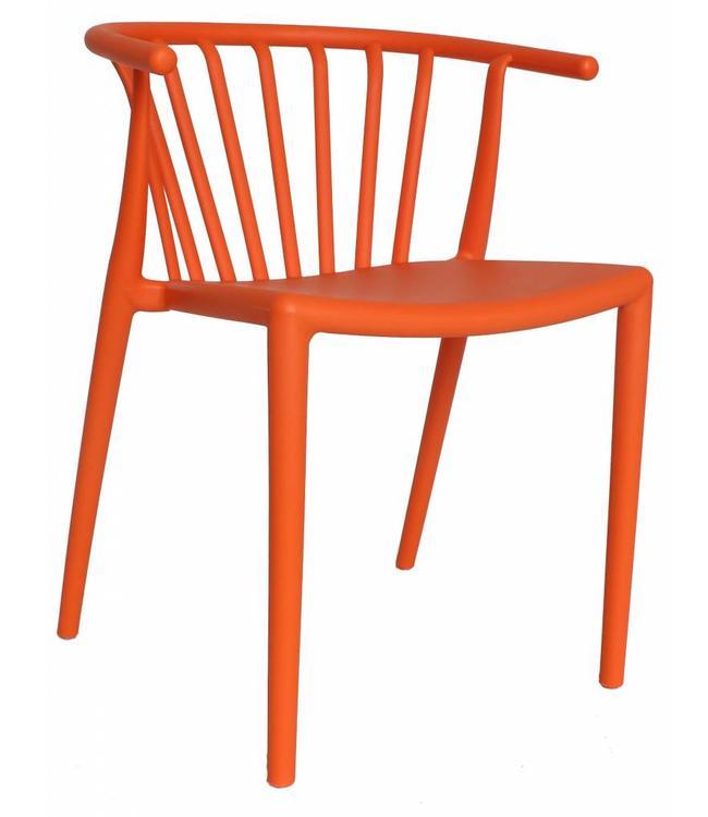 Tuinstoel modern Nour oranje