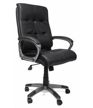 Dimehouse Comfortabele bureaustoel Master zwart