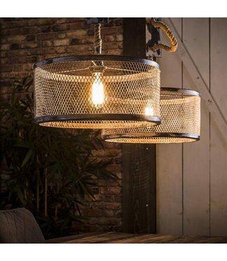 Industriële hanglamp Kiki 2xØ40cm