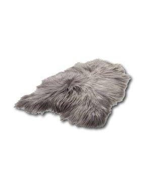 Schapenvacht Ijsland grijs 90x60 cm