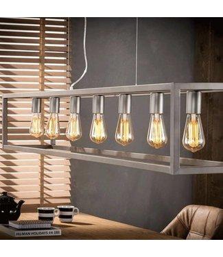 Industriële hanglamp Lucas 7L