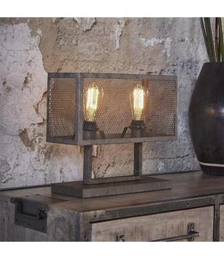 Industriële Tafellamp Brighton Rechthoek