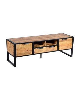 Industrieel TV-meubel Oberon