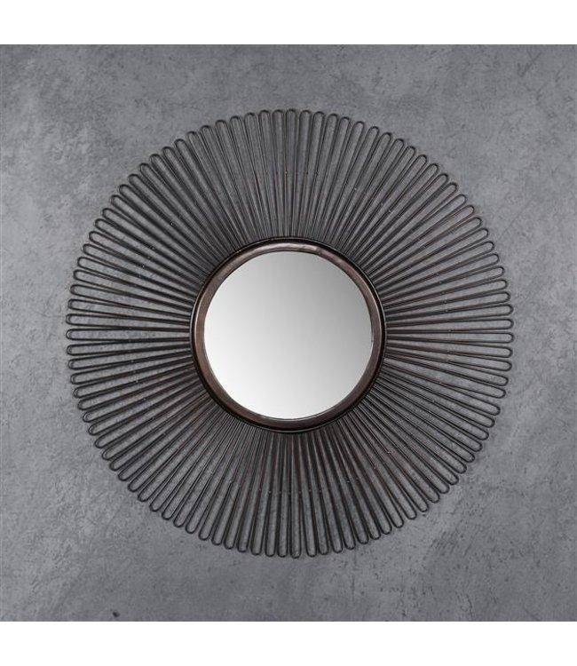 Spiegel rond Lila Ø80 cm