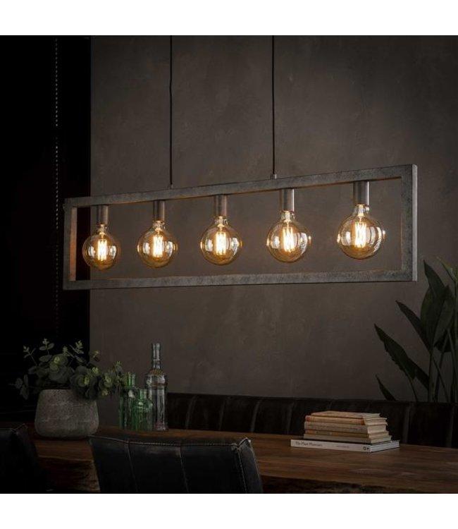 Industriële hanglamp Steph  5-lichts