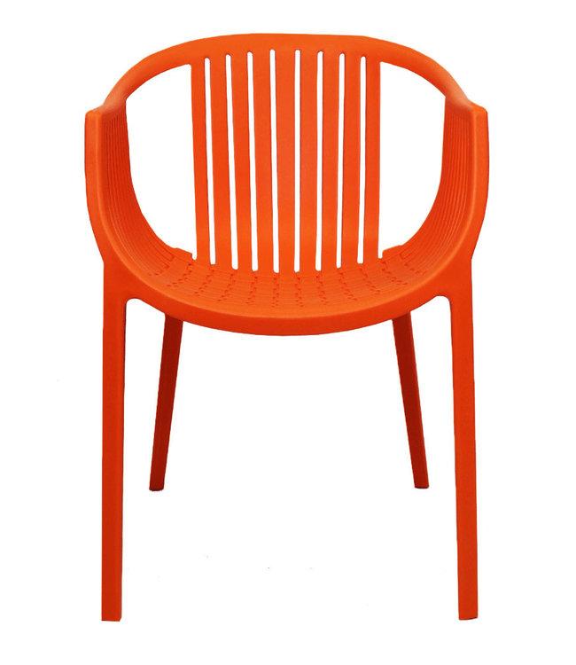 Tuinstoel modern Donne oranje