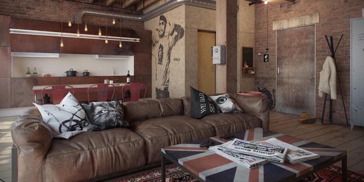 Fauteuil Design Huis En Inrichting.12x Inspiratie En Tips Voor Een Industrieel Interieur Dimehouse