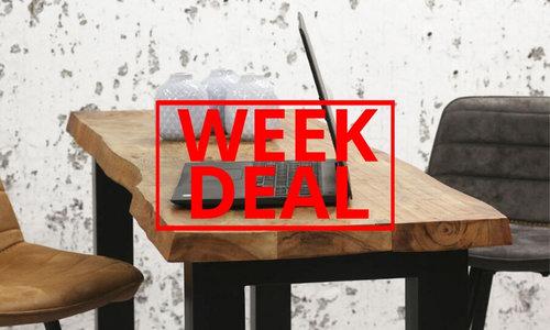 Weekdeal: Thuiswerken doe je zo! Nu 10% korting op deze nieuwe bartafel