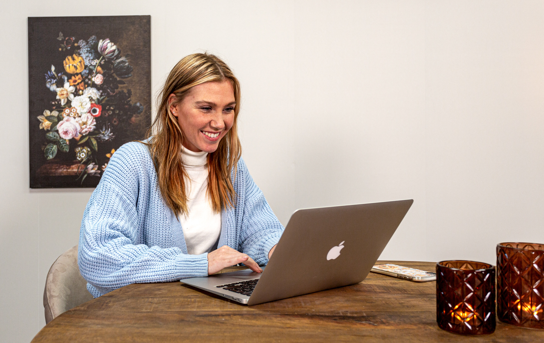 Productiever thuiswerken met producten van Dimehouse