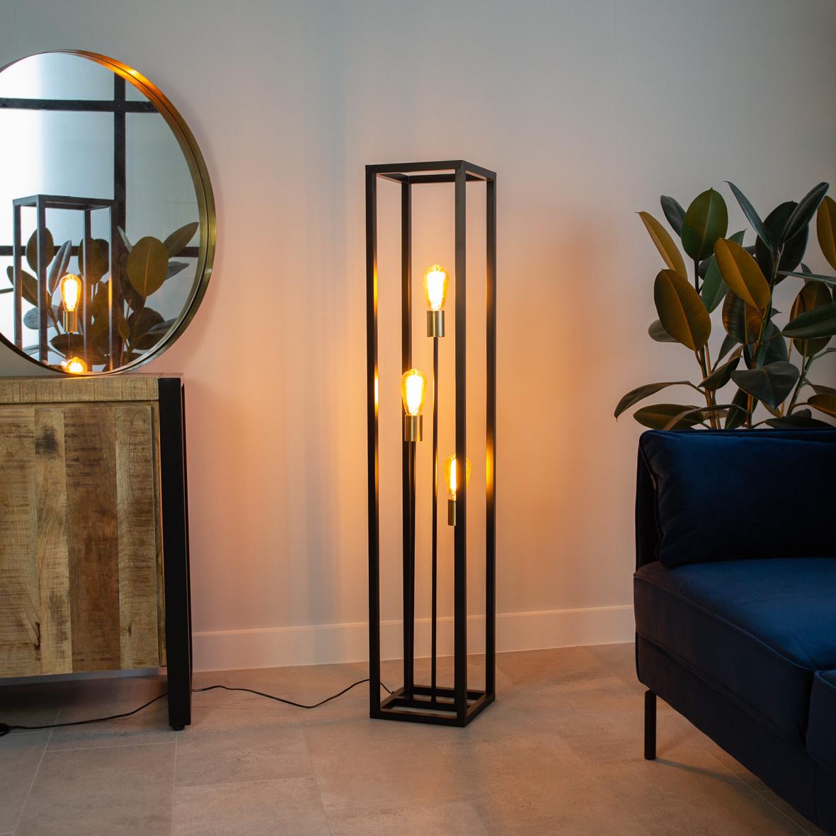 De mooiste plekken in jouw woning voor staande lampen