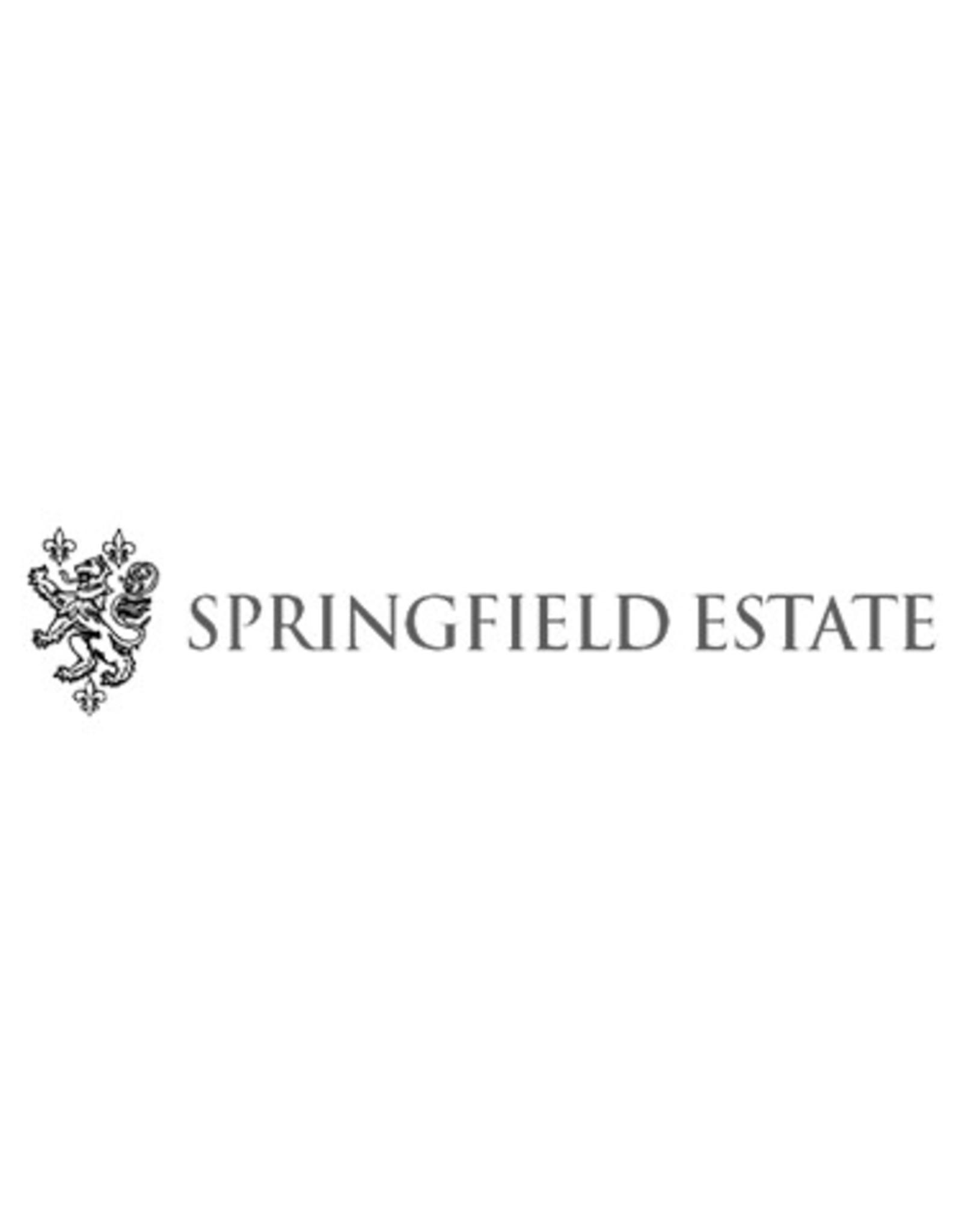 Springfield Special Cuvée Sauvignon Blanc Springfield Estate 2016