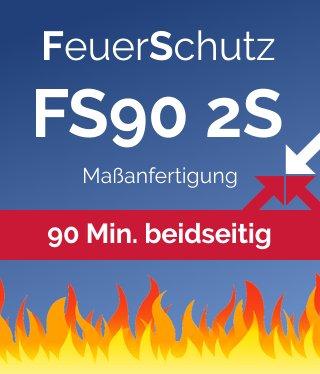 Wellhöfer Bodentreppe FeuerSchutz FS90 2S (Maßanfertigung)