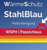 Wellhöfer WärmeSchutz PassivHaus für StahlBlau (Maßanfertigung)