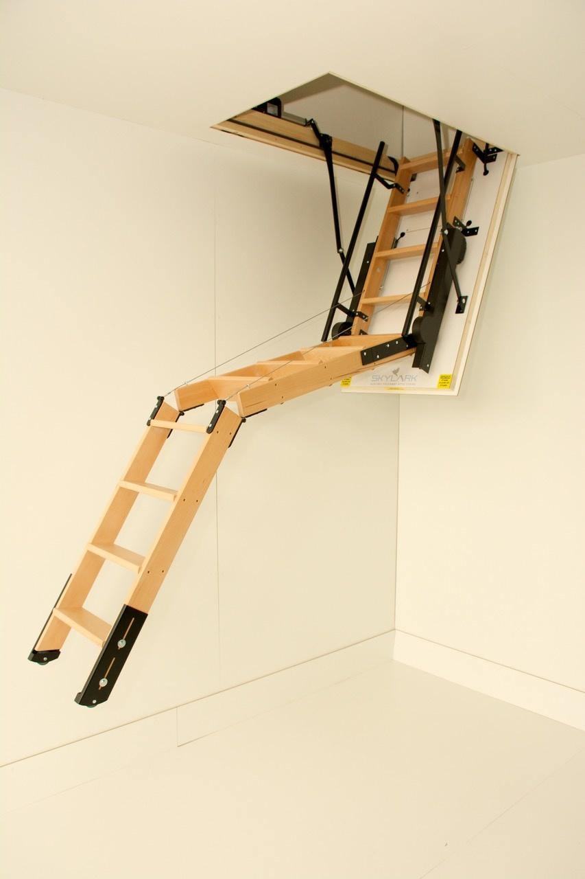Skylark Elektrische Bodentreppe (Standardmaße)