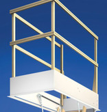 Wellhöfer Bodentreppe StahlBlau (Standardmaße)