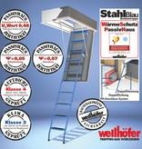 Wellhöfer WärmeSchutz PassivHaus für StahlBlau (Standardmaße)
