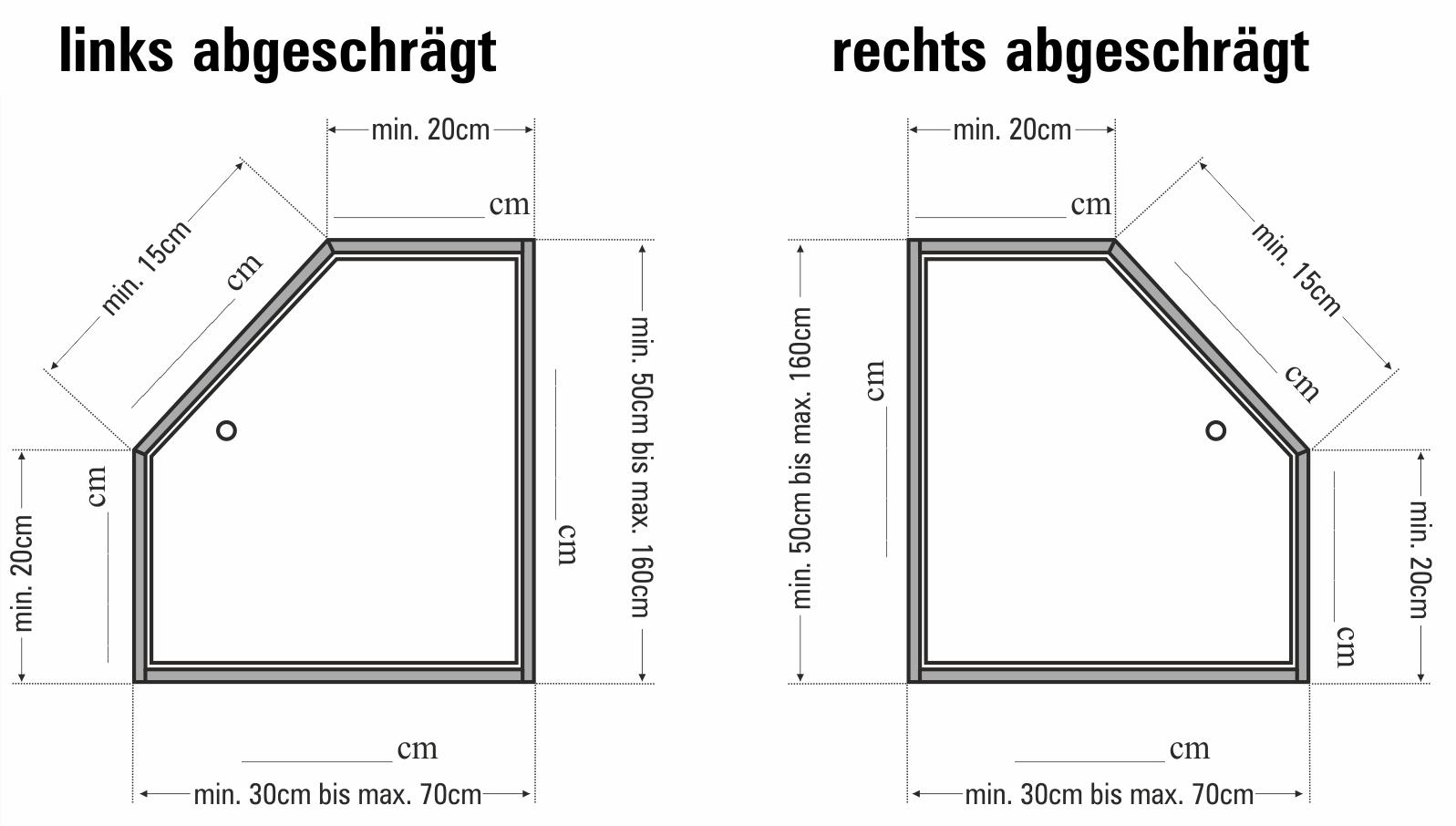 Wellhöfer 5-eckige Kniestocktür (Maßanfertigung)