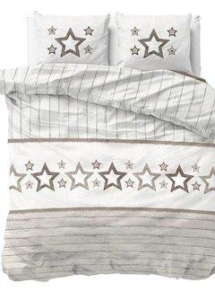 Sleeptime Stars and Stars - Taupe