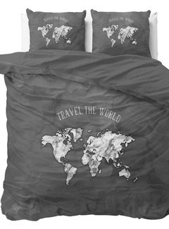 Dreamhouse Bedding Marble World - Antraciet