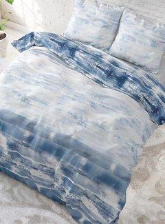Sleeptime Shibori Tiles - Blauw