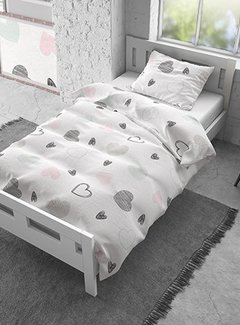 Dreamhouse Bedding All Hearts - Flanel