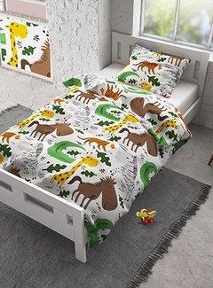 Dreamhouse Bedding Small Zoo - Flanel