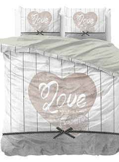 Dreamhouse Bedding Love Anyway - Grijs