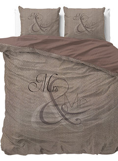 Dreamhouse Bedding Mr and Mrs Knitted - Taupe