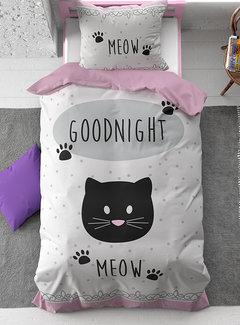 Dreamhouse Bedding Goodnight Kitty - Roze