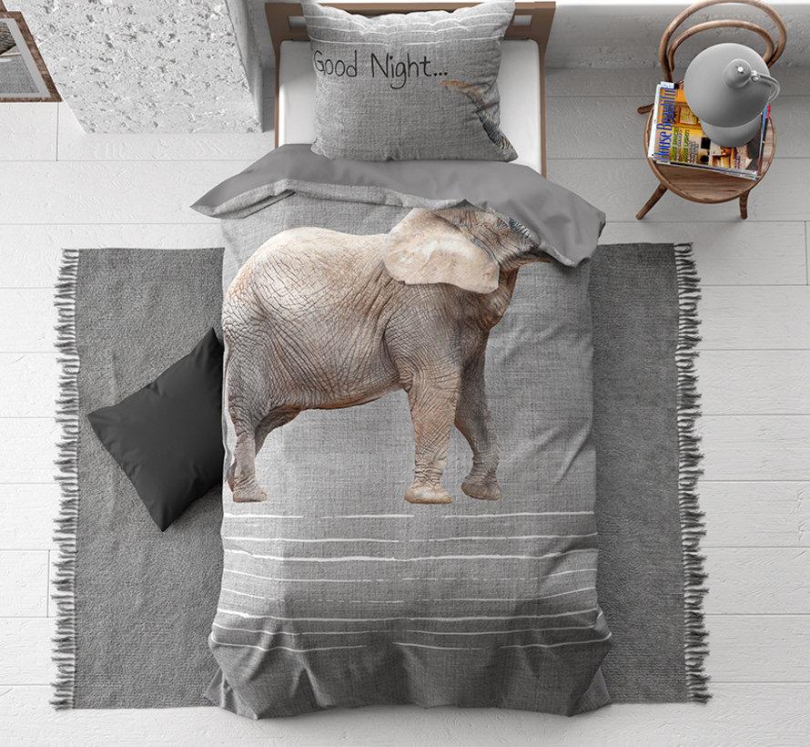 Goodnight Elephant - Grijs
