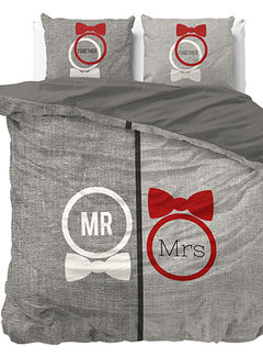 Dreamhouse Bedding Mr and Mrs Trendy - Grijs