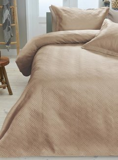 Sleeptime Bedsprei - Wave - Zand