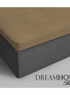 Dreamhouse Bedding Topper Hoeslaken Katoen - Verkoelend - Taupe