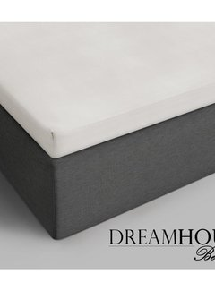 Dreamhouse Bedding Topper Hoeslaken Katoen - Verkoelend - Creme