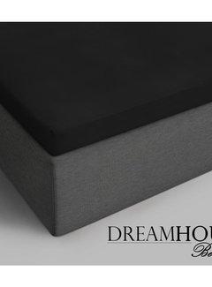 Dreamhouse Bedding Topper Hoeslaken Katoen - Verkoelend - Zwart