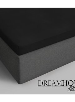 Dreamhouse Bedding Topper Hoeslaken Katoen - Zwart