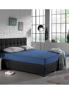 Dreamhouse Hoeslaken Jersey 135gr Stretch - Blauw