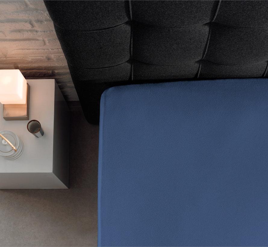 Hoeslaken Jersey 135gr Stretch - Blauw