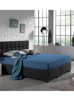 Dreamhouse Hoeslaken Dubbel Jersey - Extra Hoog - Blauw
