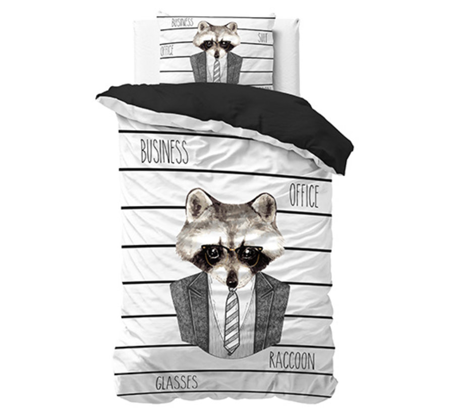 Business Raccoon - Wit