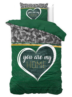 Dreamhouse Bedding You are my Home - Groen