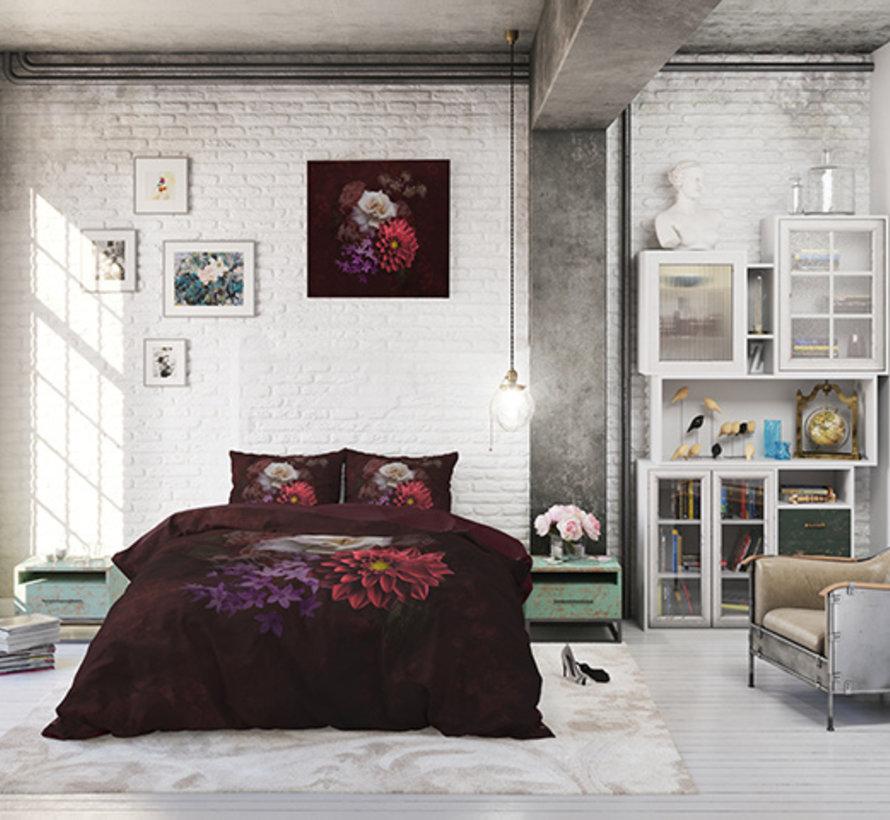 Elegant Flower - Bordeauxrood