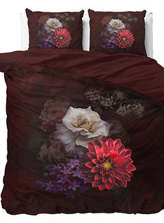Sleeptime Elegant Flower - Bordeauxrood