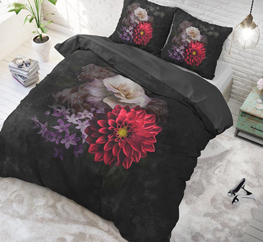 Elegant Flower - Antraciet