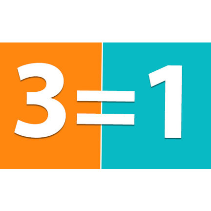 3 HALEN = 1 BETALEN
