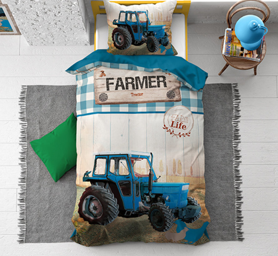 Tractor Life - Blauw