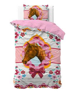 Dreamhouse Bedding Cute Horse - Roze