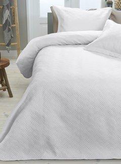 Sleeptime Bedsprei - Wave - Wit