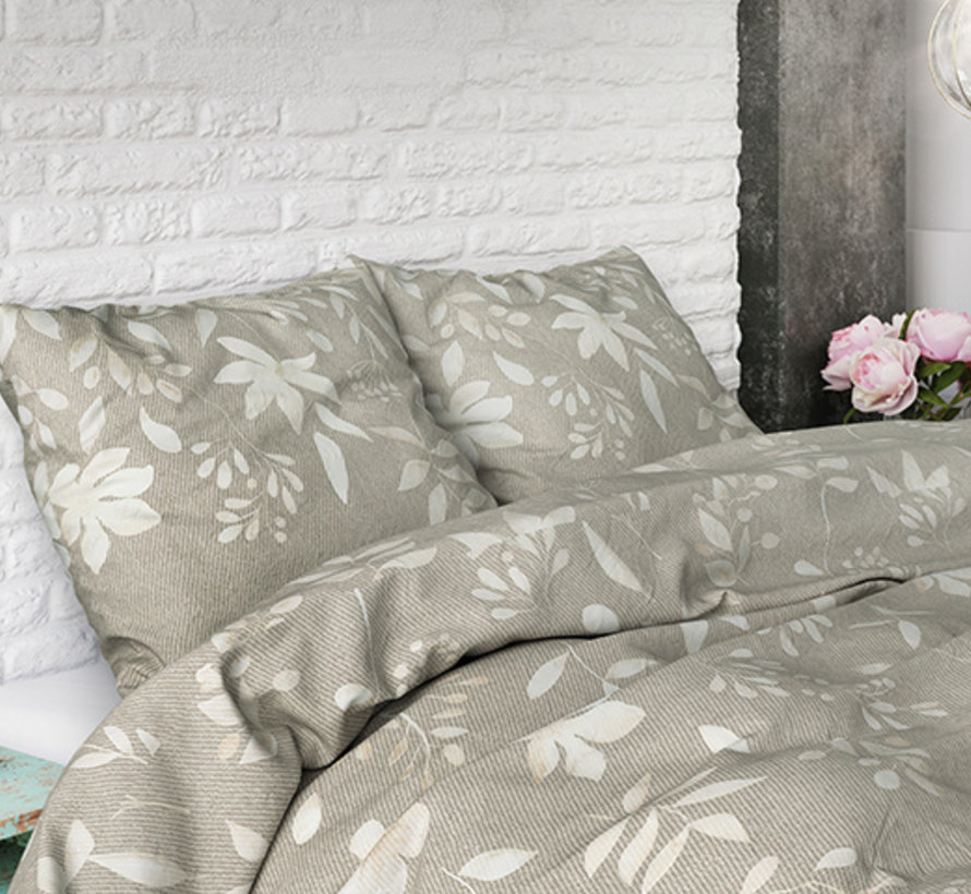 English Flower - Taupe