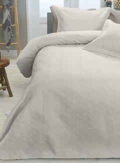 Sleeptime Bedsprei - Wave - Creme
